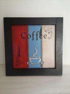 Quadro em Mdf Coffee
