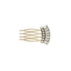 Crystal Baguette Hair Comb:  Perfect for your wedding!  Or just play up your 'do this season with this stunning, vintage-inspired treasure.