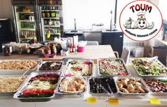 Office Catering: Chicken Sahawarma, Rice Pilaf, Spincah Pies, Hummus, Falafel, Fattoush Salad and more!