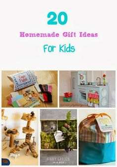 20 Homemade Gift Ideas for Kids