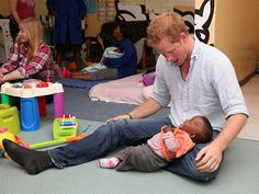 How Prince Harry Has Proved He's Ready for Kids | HE'D MAKE THIS FACE | C'mon. The world definitely needs more of this face.