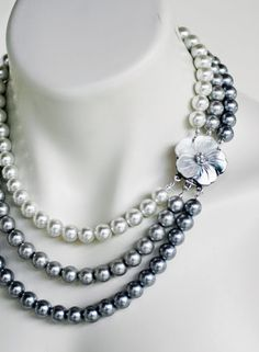 Pearls... elegant, beautiful...Sooo beautiful you can buy easily imitation of pearl...For that even imitation looks good....
