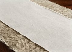 Linen Table Runner Selvaged Edge 108in