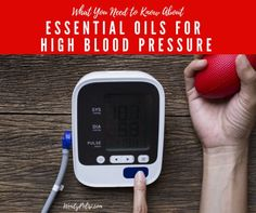 Yes, you can use essential oils to help lower blood pressure! Here is what you need to know about essential oils for high blood pressure.