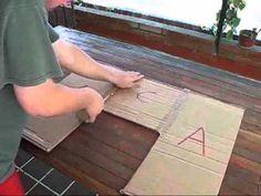 Como hacer maquina para doblar poleras - YouTube
