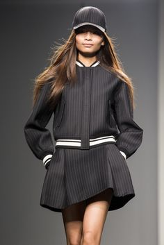 A look from Comme Moi by Lu Yan. [Photo by Sharron Lovell]