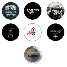 Shop Adelitas Way Rock Band Pinback Button Set (6 Pcs) at BalliGifts.com the # 1 Online Store for Cool Gifts. Free Shipping order $19.99+ USA