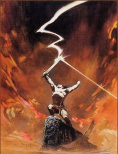 Post with 1940 votes and 61429 views. Tagged with art, fantasy, dump, frank frazetta; Shared by The amazing art of Frank Frazetta Frank Frazetta, Fantasy Artwork, Fantasy Drawings, Fantasy Paintings, Image Comics, Conan O Barbaro, ガンダム The Origin, Science Fiction, Science Art
