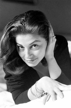 Pier Angeli without makeup, ca. 1953.