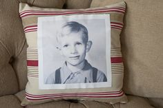 Vintage Photograph Pillow