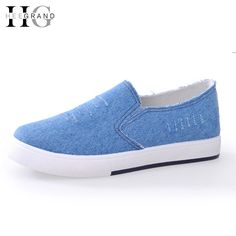 Cheap denim abaya, Buy Quality denim tights directly from China denim shorts Suppliers: HEE GRAND Platform Canvas Shoes Woman Denim Loafers Shoes For Lovers 2016 Creepers Slip On Flats Casual Women Shoes  XWD4583