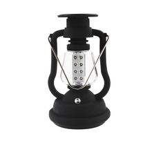 This camping lantern uses ultra bright LEDs which produces a very bright beam. Features: 16 super bright LED lights, low power consumption and long lifespan. Environmental and energy saving. 2 different kinds of charging: solar, hand crank 1 minute of cranking provides 10 minutes of light. With stainless steel flexible handle, it is easy to carry. Perfect for camping, hiking, tent, travel and other outdoor activities. Specifications: Lantern Material: ABS Handle Material: Stainless Steel…