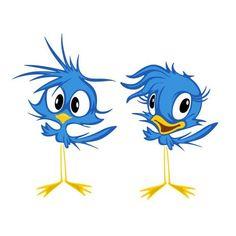 Ideas For Cute Bird Silhouette Cricut Cartoon Birds, Cute Cartoon, Bird Drawings, Cute Drawings, Disney Drawings, Cartoon Drawings, Art Fantaisiste, Bird Silhouette, Cute Birds