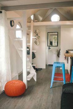 85 amazing loft stair for tiny house ideas