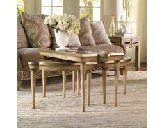 Sanctuary Mirrored L&R Bunching Tables - Surf-Visage   Hooker Furniture   Star Furniture   Hooker Furniture – Sam Moore – Bradington Young – Seven Seas
