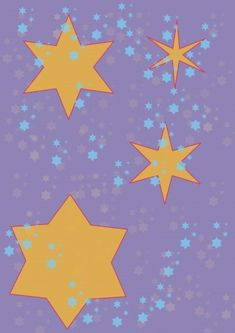 Four yellow stars on violet sky Photo Editing, Sky, Stock Photos, Fine Art, Stars, Yellow, Creative, Projects, Pictures