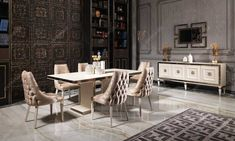 Living Room Sofa Design, Art Deco, Dining Table, Modern, Furniture, Home Decor, Interiors, Living Room, Trendy Tree
