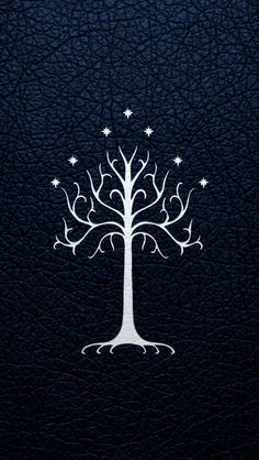 The White Tree of Gondor - iPhone 5 Wallpaper by ~EchoLeader on deviantART