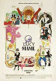 Mame is a 1974 musical film based on the 1966 Broadway musical of the same name and the novel by Patrick Dennis, directed by Gene Saks, written by Paul Zindel, and starring Lucille Ball and Beatrice Arthur.