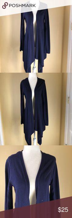 CAbi Drape Cardigan Size Medium/ Navy Blue drape cardigan by Cabi▪️✨ CAbi Sweaters Cardigans