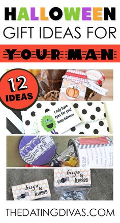 Lots of ideas for your husband or boyfriend for Halloween.  CUTE!   www.TheDatingDivas.com