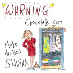 Chocolate fashion warning! Funny Greeting Cards, Funny Cards, Funny Greetings, Chocolate Fashion, Online Cards, School Cartoon, Seriously Funny, Make Me Smile, Funny Pictures