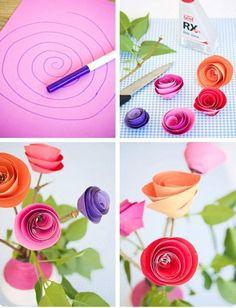 Fika a Dika - Por um Mundo Melhor: Flores Como Fazer