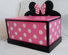 Minnie Mouse Toy Box
