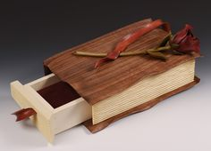 Interesting wooden things #wood #book #rose