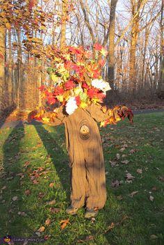 Fall Tree - Halloween Costume Contest via @costumeworks