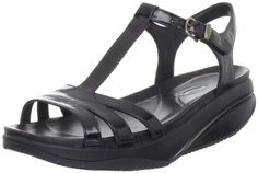 MBT Women's Sadiki Sandal,Black Patent,38 EU/7-7.5 M US *** Details can be found by clicking on the image.
