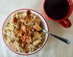 Apple Cinnamon Chia Oatmeal Recipe on Yummly. Chia Oatmeal Recipe, Oatmeal And Eggs, Oatmeal Recipes, Apple Recipes, Fruit Company, Eat Greek, Breakfast Time, Breakfast Ideas, Unsweetened Applesauce