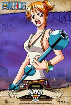 One Piece - Nami by OnePieceWorldProject.deviantart.com on @deviantART