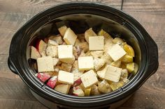 How to make slow cooker Parmesan ranch potatoes