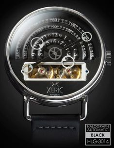 Xeric Halograph Watches A Kickstarter Success, With Affordable Prices and Unusual Designs
