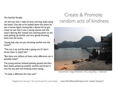 Do-Feel-Be acts of kindness will make a difference for one person in your life Seven Wonders, See It, Natural Wonders, Early Morning, Vietnam, Acting, Yoga, Adventure, Beach