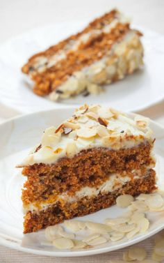 Carrot & Almond Cake