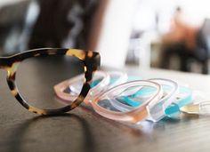 3c148e160ec Mix-n-match glasses from Frameri Pink Sunglasses