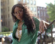 Americká rappeka ostřejšího ražení Jean Grae, která letos dorazí na Hip Hop Kemp