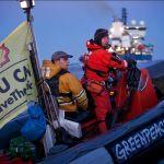 Greenpeace Occupies Arctic Ice Breaker
