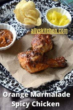I love my orange marmalade spicy chicken drum sticks! There's nothing difficult about this recipe. If you can dump and stir, then you've got it. #chickendrumsticks #orangechicken Breakfast Recipes, Dinner Recipes, Dinner Ideas, Orange Marmalade Chicken, Baked Chicken, Chicken Recipes, Pheasant Recipes, My Favorite Food, Favorite Recipes