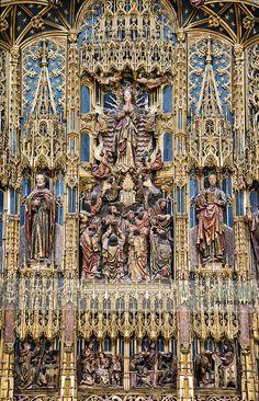 Altar da Catedral de Coimbra.