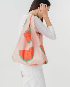 Our best selling reusable bag is not just for the grocery store. Carry in  your hand or over your shoulder. Holds plastic grocery bags worth of stuff. eeb333f378bc9