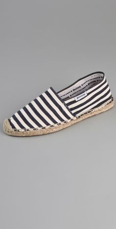 Soludos striped espadrilles, $36.