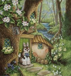 Martha B. Rabbit by English Australian illustrator Shirley Barber