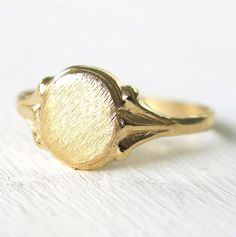 gold ring, signet ring, pinky ring, statement ring, oval ring, stacking ring, thin ring, victorian ring, tiny ring, solid ring, boho ring