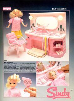 The 80's | Vintagesindy 80s Furniture, Barbie Playsets, Sindy Doll, Retro 1, My Childhood Memories, Barbie World, Old Toys, Vintage Dolls, Fashion Dolls