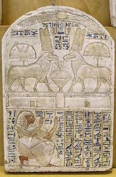 Stele of Baki From Deir el-Medina 19th dynasty, reign of Seti I and Rameses II, around  1290-1279 BC Limestone