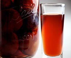 Christams presents sorted. how to make slivovitz (or eastern european plum schnapps). Brandy Recipe, Plum Wine, Homemade Wine, Cocktail Drinks, Cocktails, Schnapps, Liquor, Delish, Alcohol