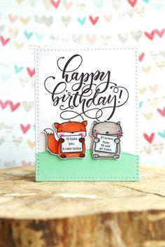 birthday wishes {mama elephant}   by mom2sofia